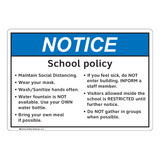 Notice/School Policy (FL1139-)