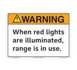 Warning/When Lights are Illuminated (C27109-13)