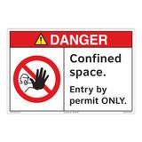 Danger/Confined Space Floor Marker (FM112-)