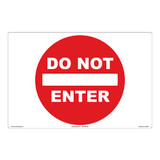 Do NOT Enter Floor Marker (FM126-)