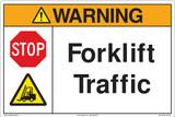 Warning/Forklift Traffic Floor Marker (FM140-)
