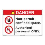 Danger/Non-Permit Floor Marker (FM170-)