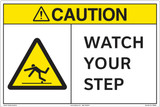 Caution/WATCH YOUR STEP.(FM200-)