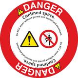 Danger/Confined Space Floor Marker (FM111-)