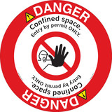 Danger/Confined Space Floor Marker (FM113-)