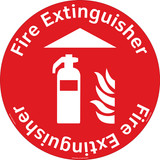 Fire Extinguisher Floor Marker (FM139-)