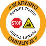 Warning/Forklift Traffic Floor Marker (FM141-)