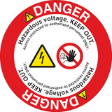Danger/Hazardous Voltage Floor Marker (FM143-)