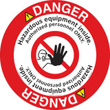 Danger/Hazardous Equipment Floor Marker (FM147-)