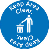 Keep Area Clear Floor Marker (FM157-)