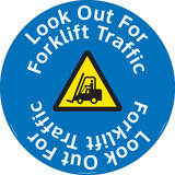 Look Out For Forklift Floor Marker (FM159-)