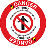 Danger/No Entry Floor Marker (FM167-)