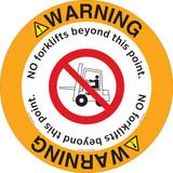 Warning/No Forklifts Floor Marker (FM169-)
