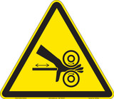 Hand Crush/Roller Pinch Point (FIS1056-)