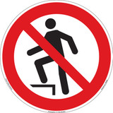 Do Not Step (FIS5080-)
