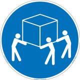 Use Three Person Lift (FIS5132-)