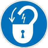 Lock Out/Electrical Power (FIS6011-)