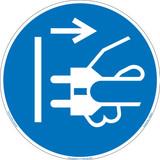 Disconnect Main Plug (FIS6032-)