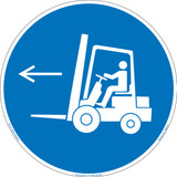 Forklift Point Left (FIS6073-)
