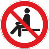 Do Not Sit Here (FIS6083-)