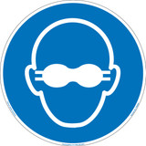 Wear Opaque Eye Protection (FIS6099-)