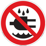 Do Not Expose to Water (FIS6139-)