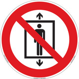 Do Not Use This Lift for People (FIS6150-)