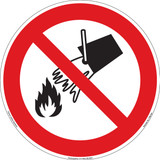 Do Not Extinguish with Water (FIS6160-)