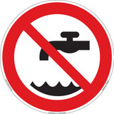 Do Not Use Water (FIS6192-)