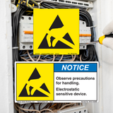 Electrostatic Discharge Labels