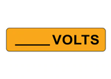How to Create Your Own Custom Voltage Identification Label