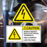 General Electrical Hazard Labels