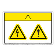 Electrical Hazard Safety Labels | Clarion Safety Systems