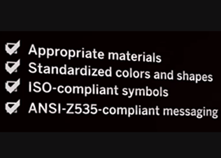 Safety Signs and Labels Risk Assessment Video