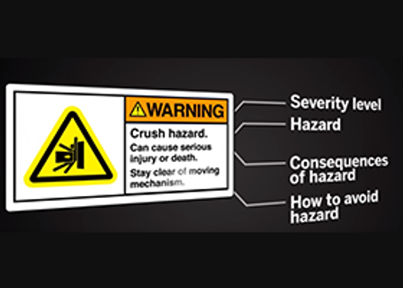 Safety Signs and Labels Semiotics Video