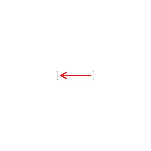 Left Arrow Label (532-4030)