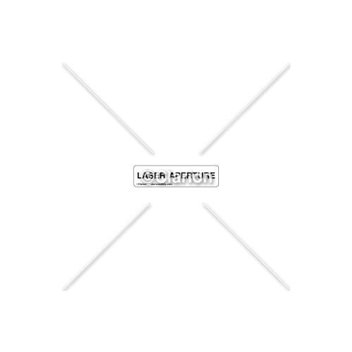 Laser Aperture Label (8012-50HP1)
