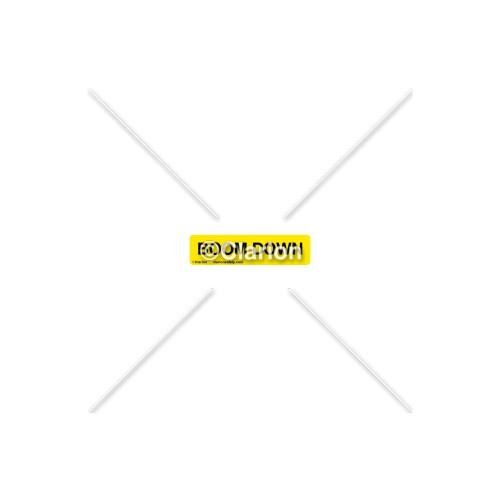 Boom Down Label (8312-05HP-1)
