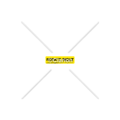 Rotate Right Label (8312-10HP-1)