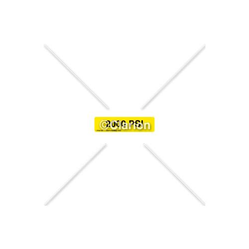 2000 Psi Label (8312-13HP-1)