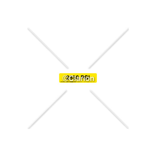 2850 Psi Label (8312-14HP-1)