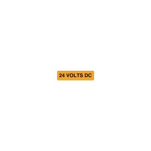 24 Volts DC Label (C26296-01)