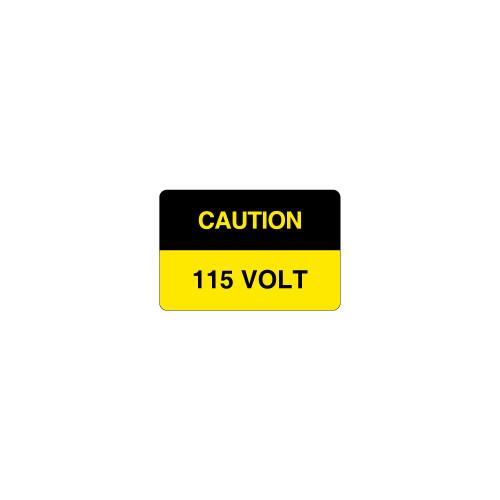 Caution/115 Volt Label (C5879-58)