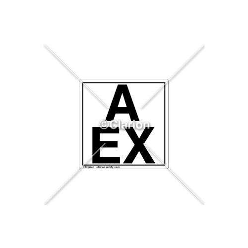 A EX Label (C8021-06)