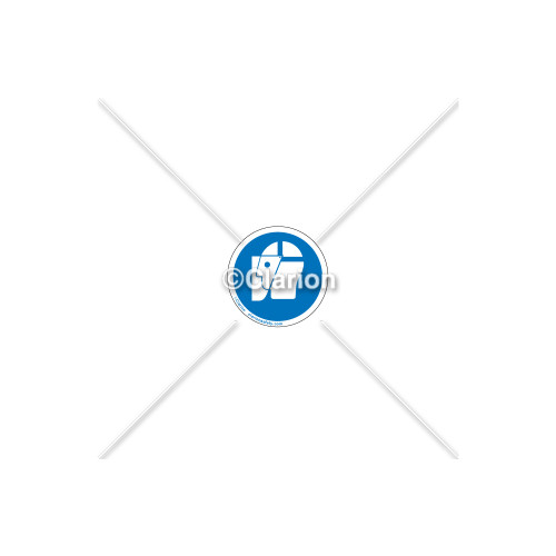 Wear Face Shield Label (IS6129-PC)