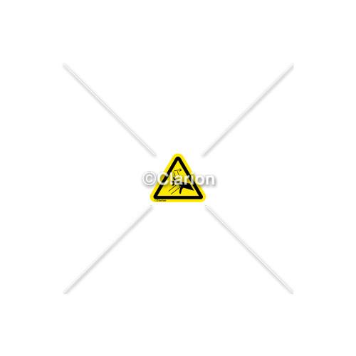 Hand Crush/Pinch Point Label (C15637-05)