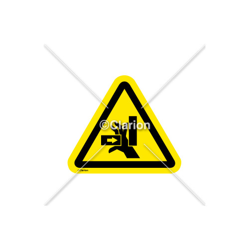 Crush Hazard Label (IS1277-PD)