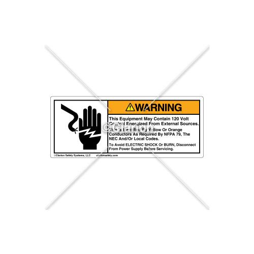 Warning/This Equipment Label (C24711-02)