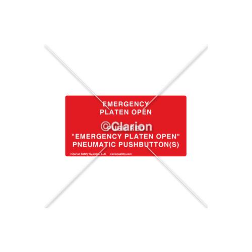 Emergency Platen Open Label (532-2006)