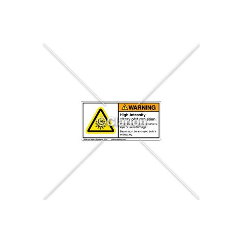 Warning/High-Intensity Ultraviolet Label (C6940-02)